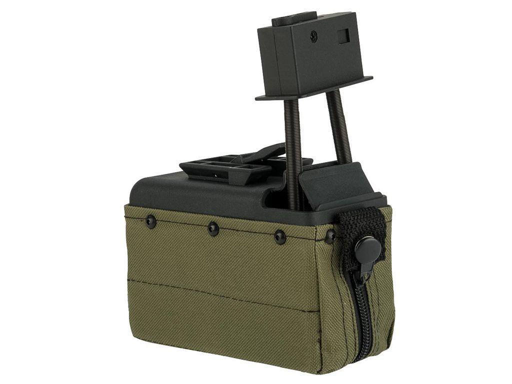 A&K 1500 Round Box Magazine For M249 Series