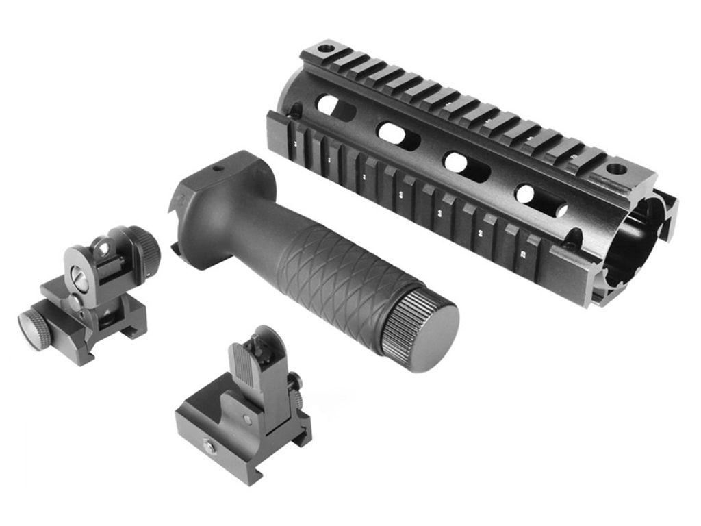 AR-15/M4 V1 Carbine Rail and Sights Combo Kit