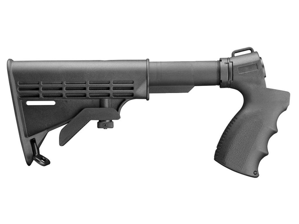 Mossberg 6 Position Stock 500 Shotgun Pistol Grip