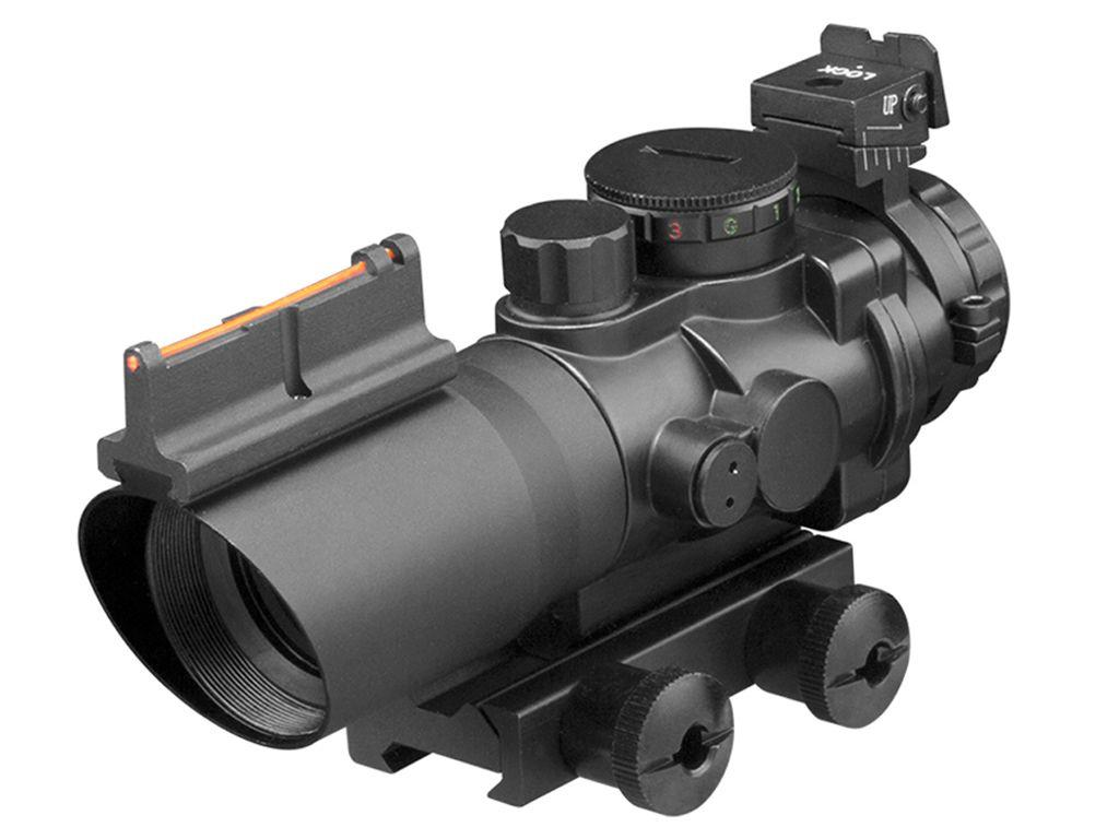 Series 4x32mm Fiber Optic Rifle Scope