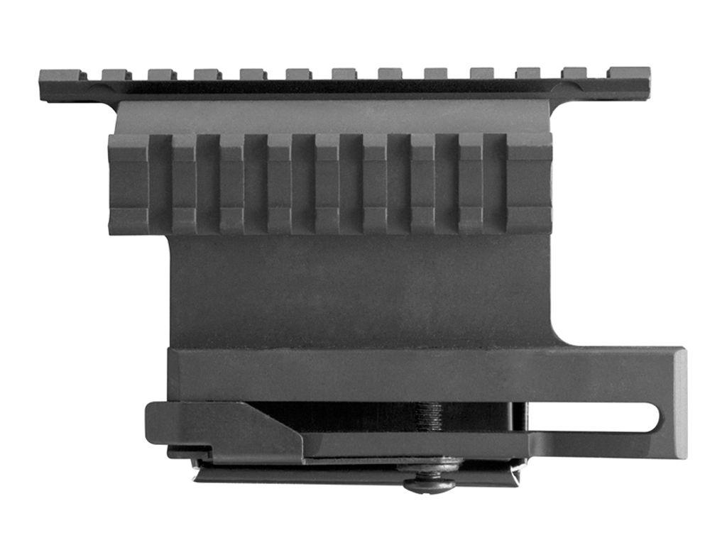 AK-47 Double Side Aluminum Rail Mount w/ Quick Release Lever
