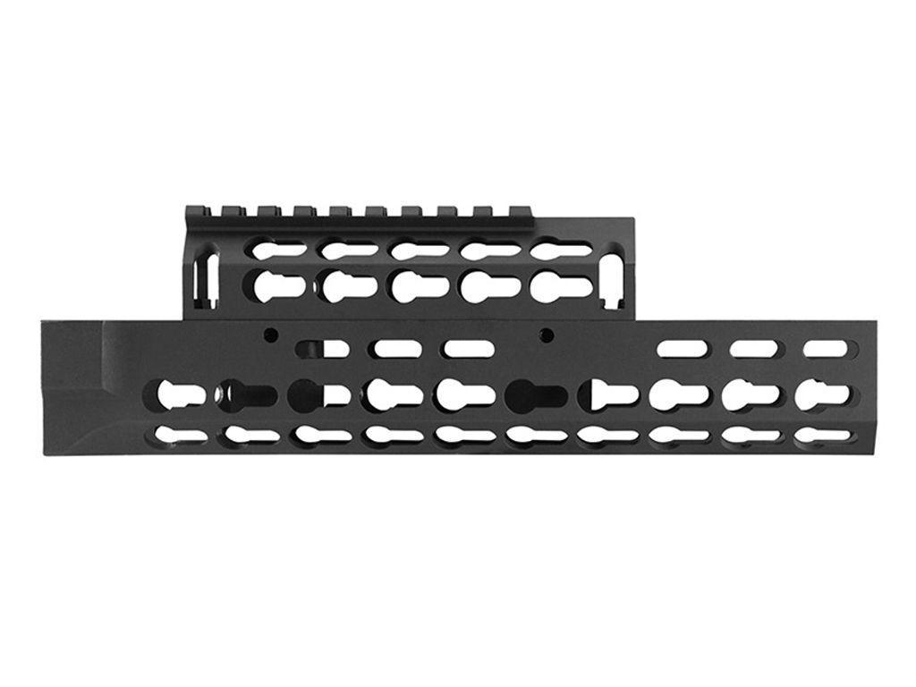 AK-47 Black Anodized Keymod Drop-in Design Handguard