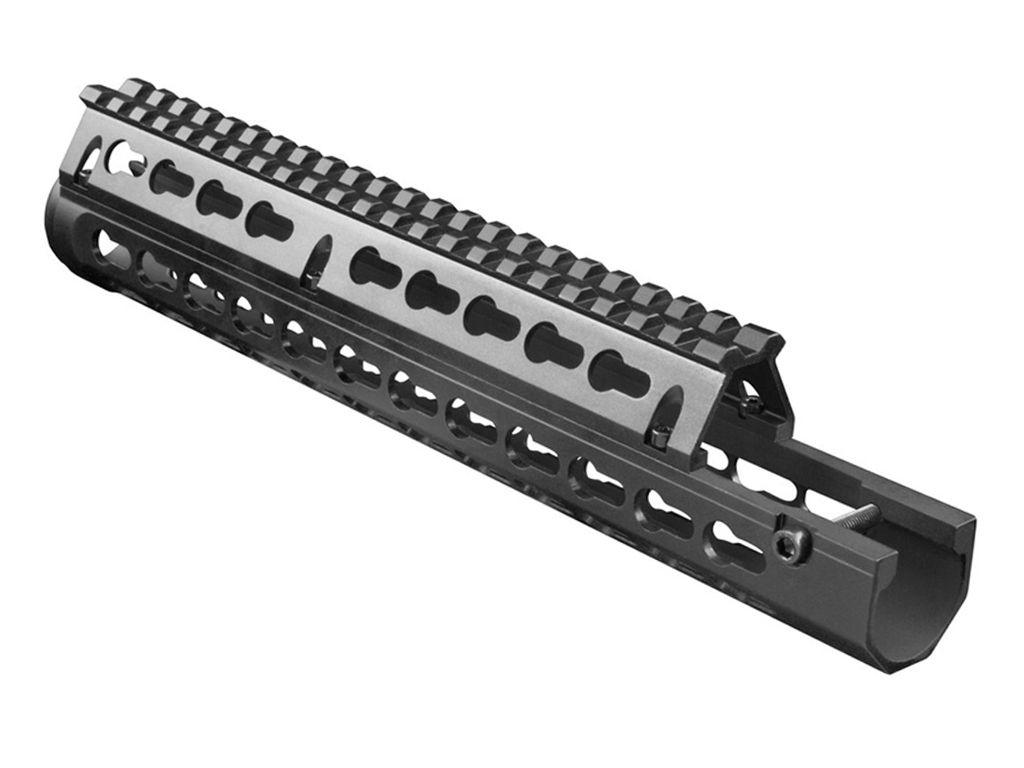 Drop-in-Design Aluminum Keymod Handguard
