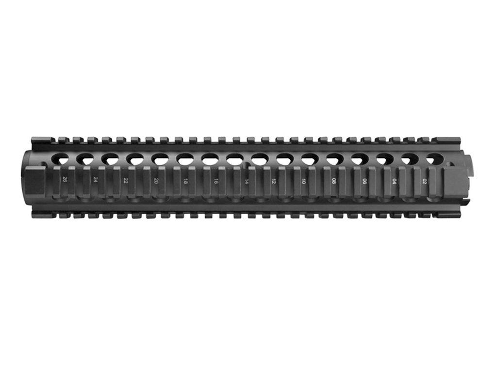 Rifle Length Drop-in Quad Rail Handguard