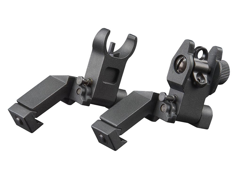 Ar Low Profile Aluminum Flip-Up Sight