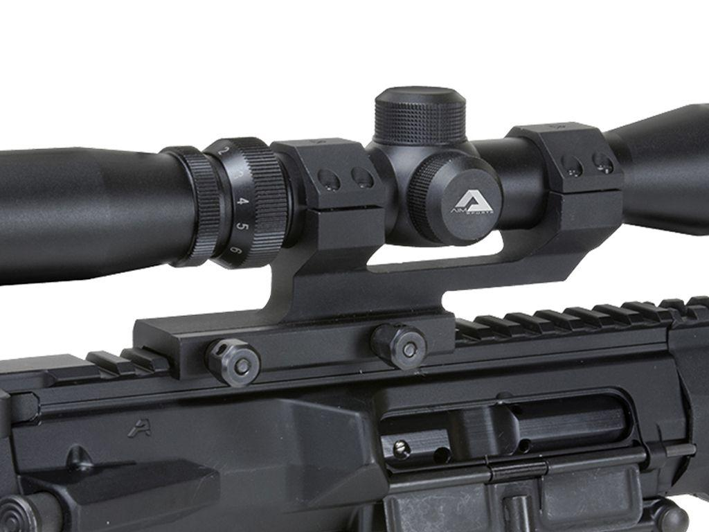 30mm QD Cantilever Black Anodized Scope Mount