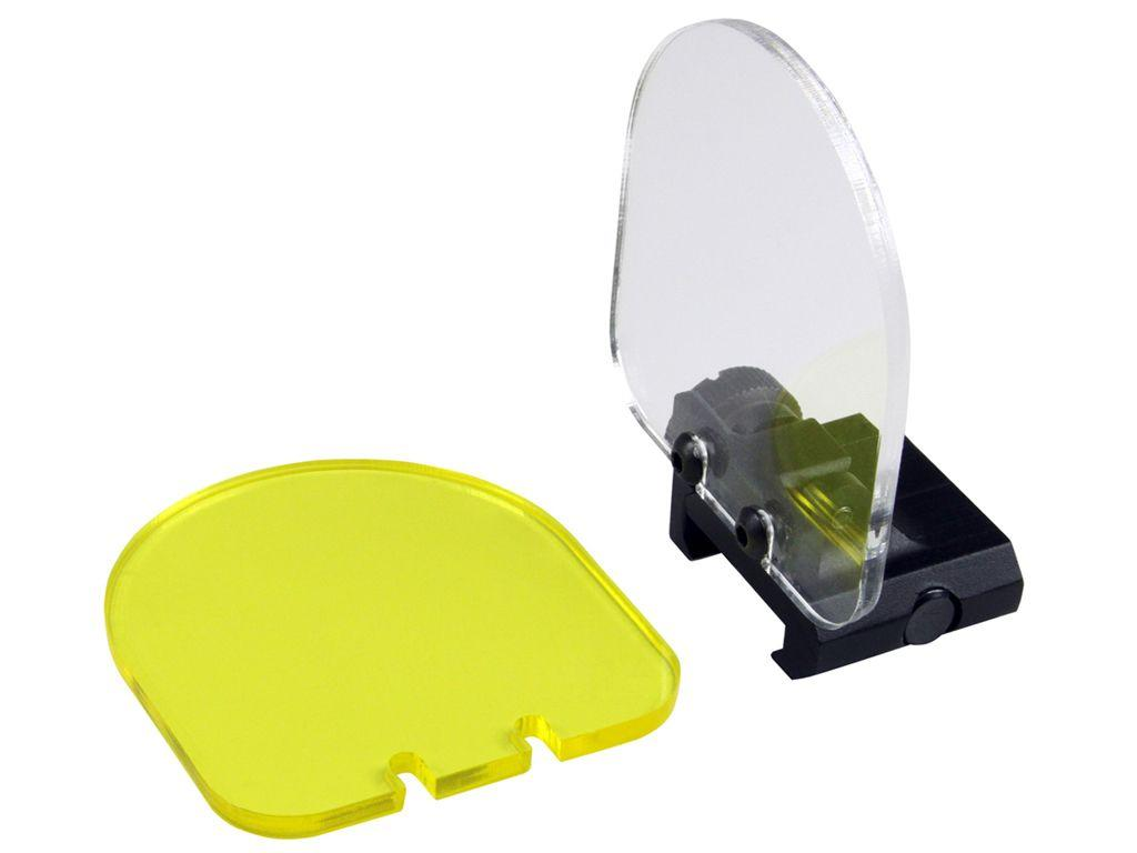 Picatinny Yellow and Clear Lens Protector