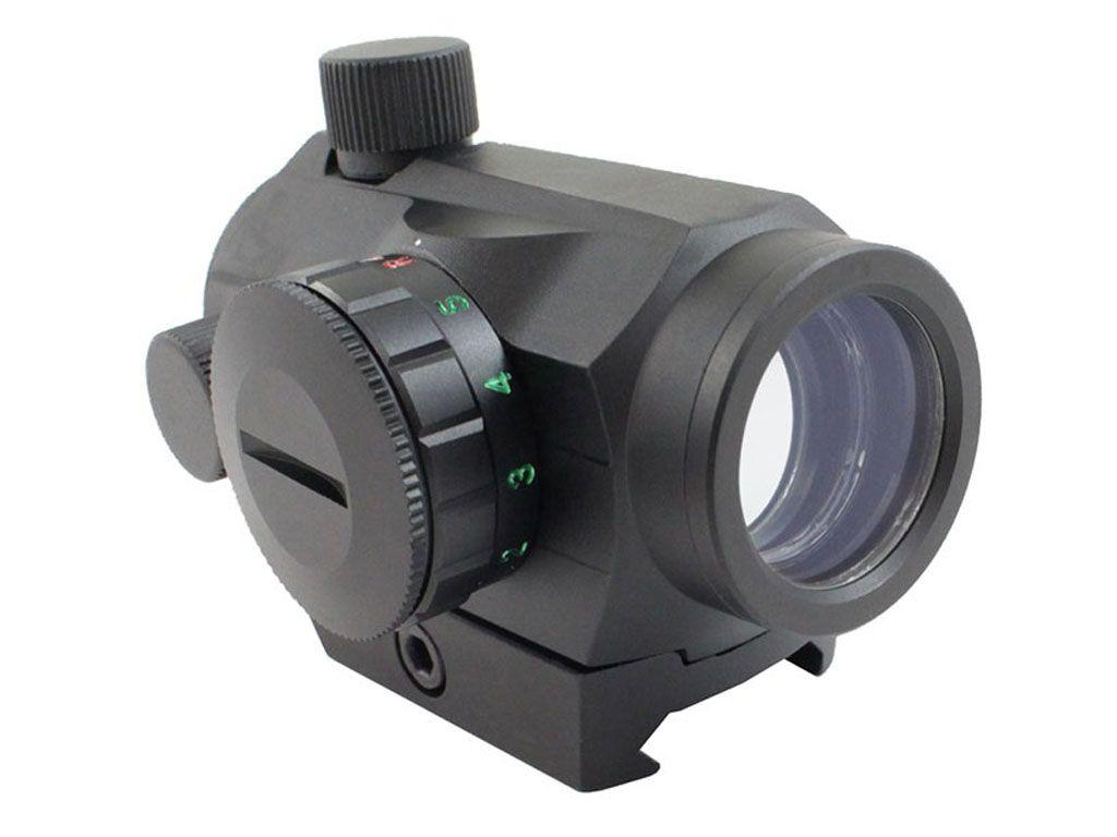 1x20mm Dual Illuminated Micro Dot with QD Absolute Co-Witness Riser