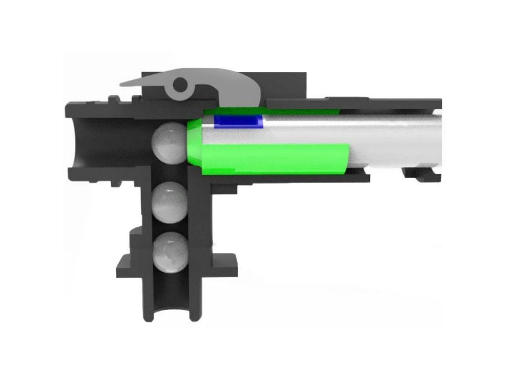 VFC M4 Hop-up Chamber Airsoft - Modified R-HOP Arm