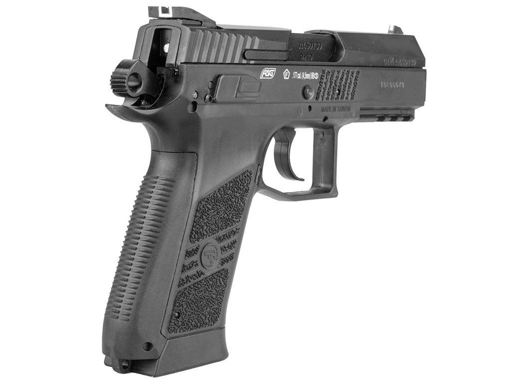 ASG CZ 75 P-07 Duty GNB 4.5mm BB Pistol