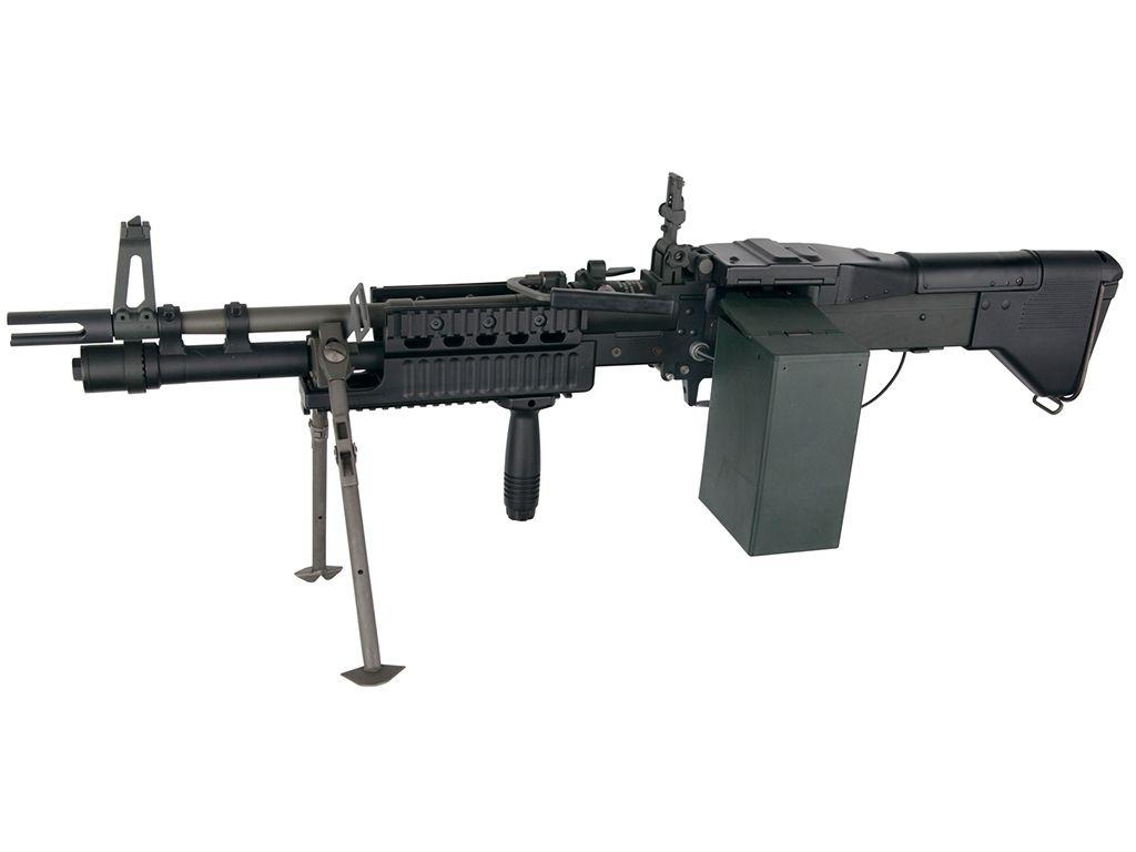 ASG M60E4/Mk43 Commando Airsoft Rifle