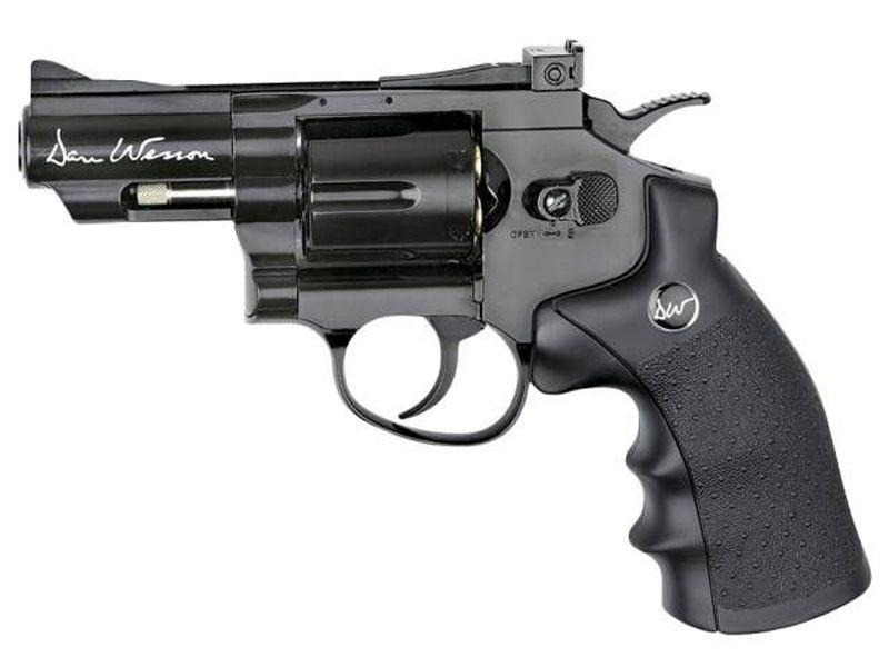 Dan Wesson Low Power CO2 Revolver