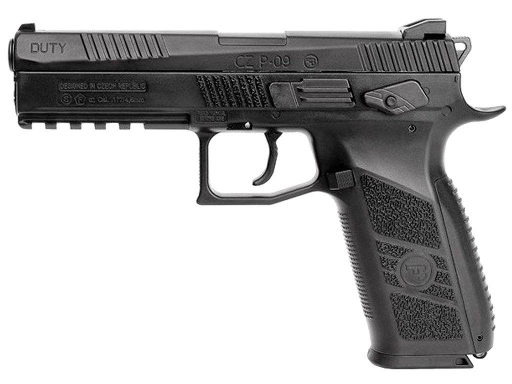 ASG CZ P-09 Blowback Steel BB/Pellet Gun