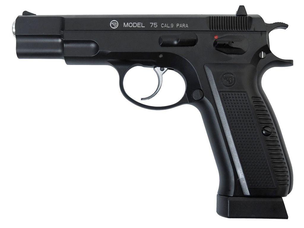 ASG CZ 75 CO2 Blowback Steel BB Pistol