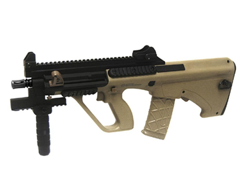 STEYR AUG A3 XS Commando Tan Airsoft Rifle