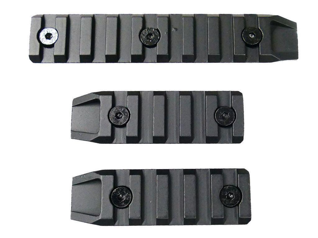 Keymod Metal Rails Set of 3pc