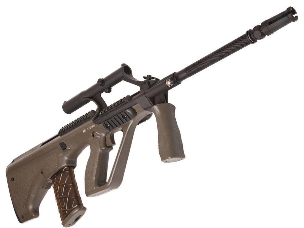 Asg Steyr Aug A1 Olive Drab Aeg Rifle Replicaairguns Ca