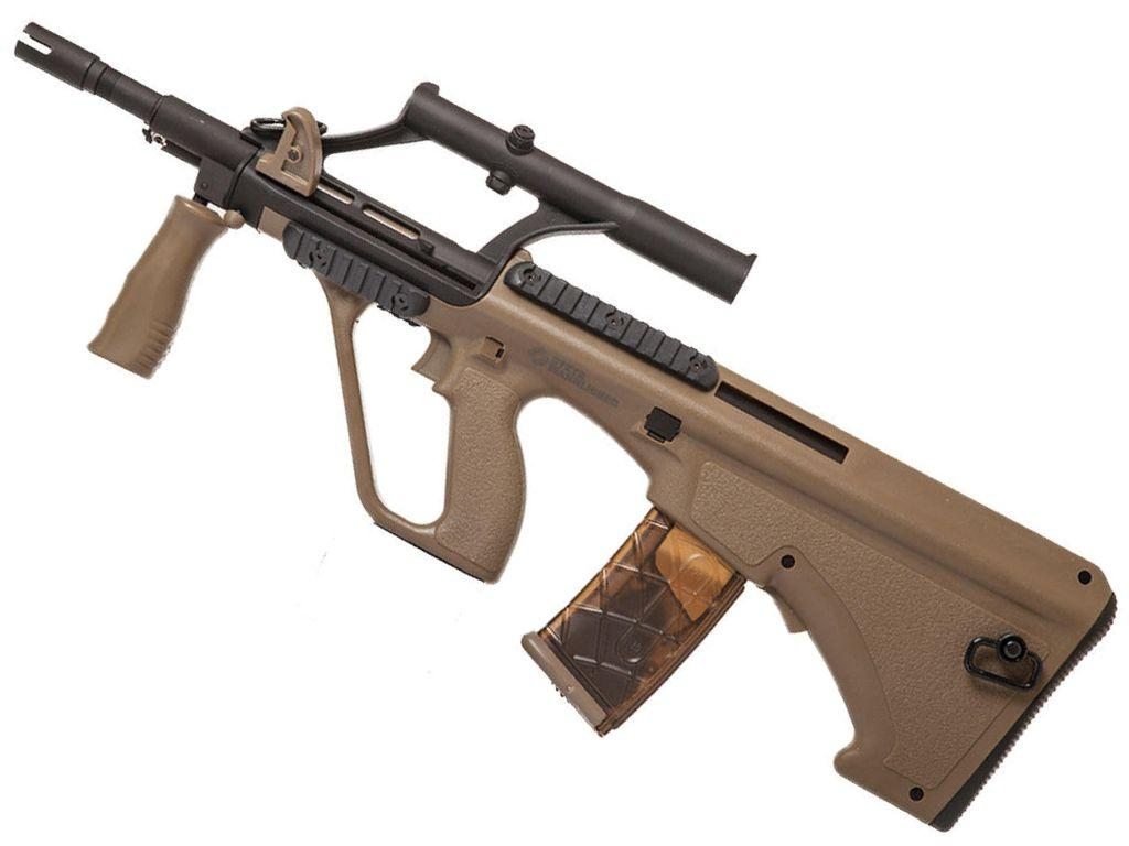 ASG Steyr AUG A1 Compact Tan AEG Rifle