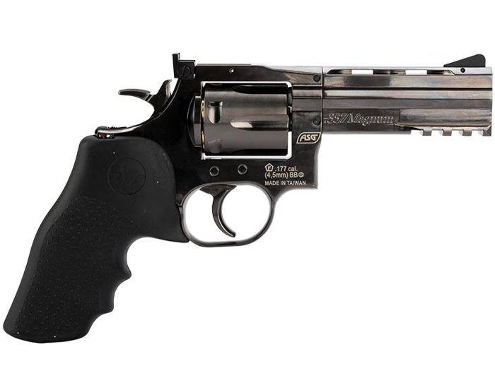 ASG Dan Wesson 715 4-Inch CO2 Steel BB Revolver