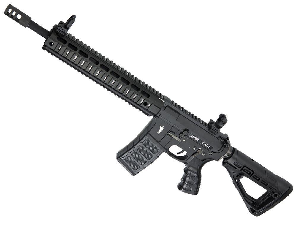 CAA M4 CQB 14.5 Inch Black Airsoft Rifle - 394 FPS