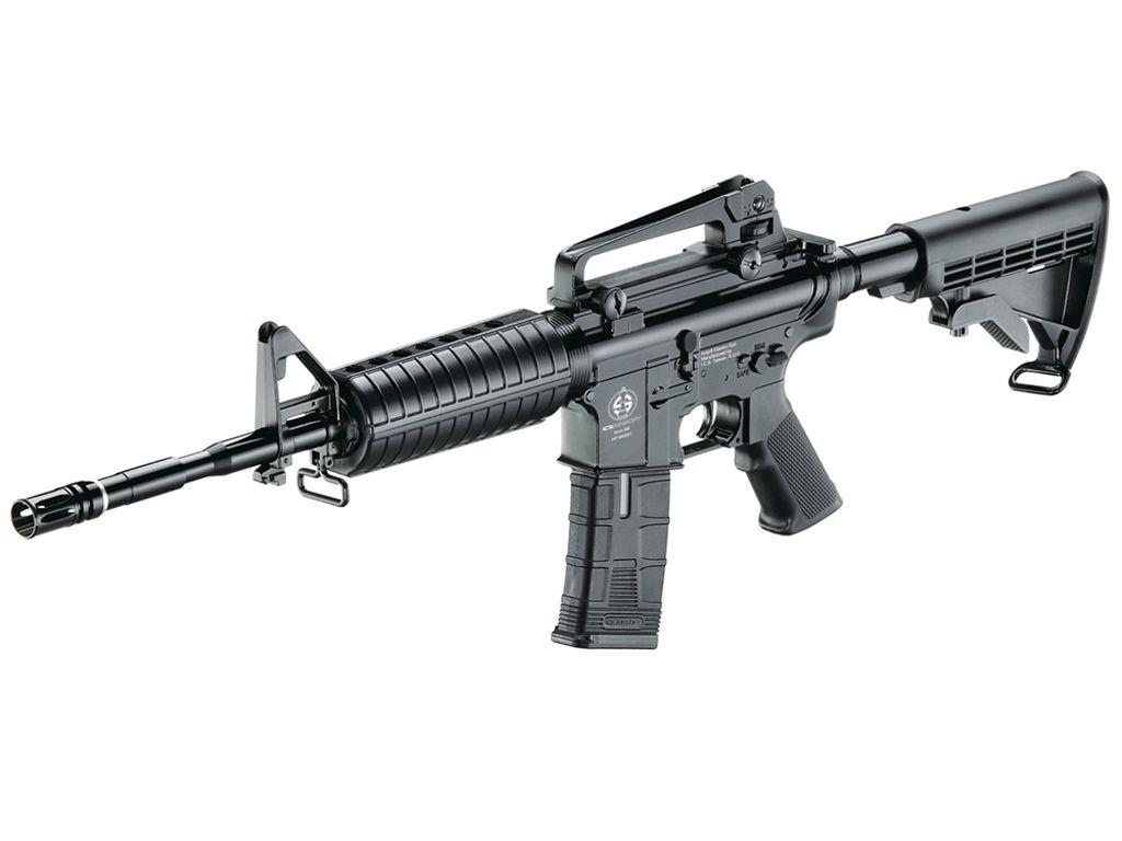 AEG PL CS4A1 Black Airsoft Rifle