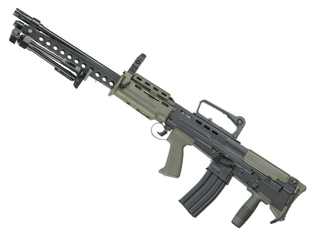 ICS L86 A2 Airsoft Rifle - 6mm