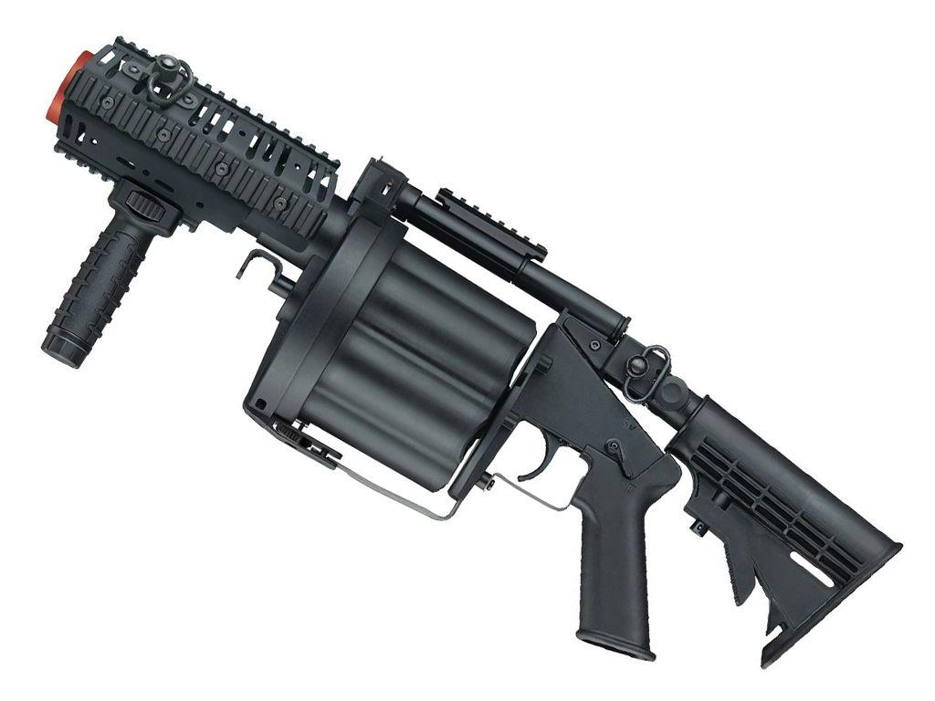 Multiple Grenade 6mm Airsoft Launcher - Short