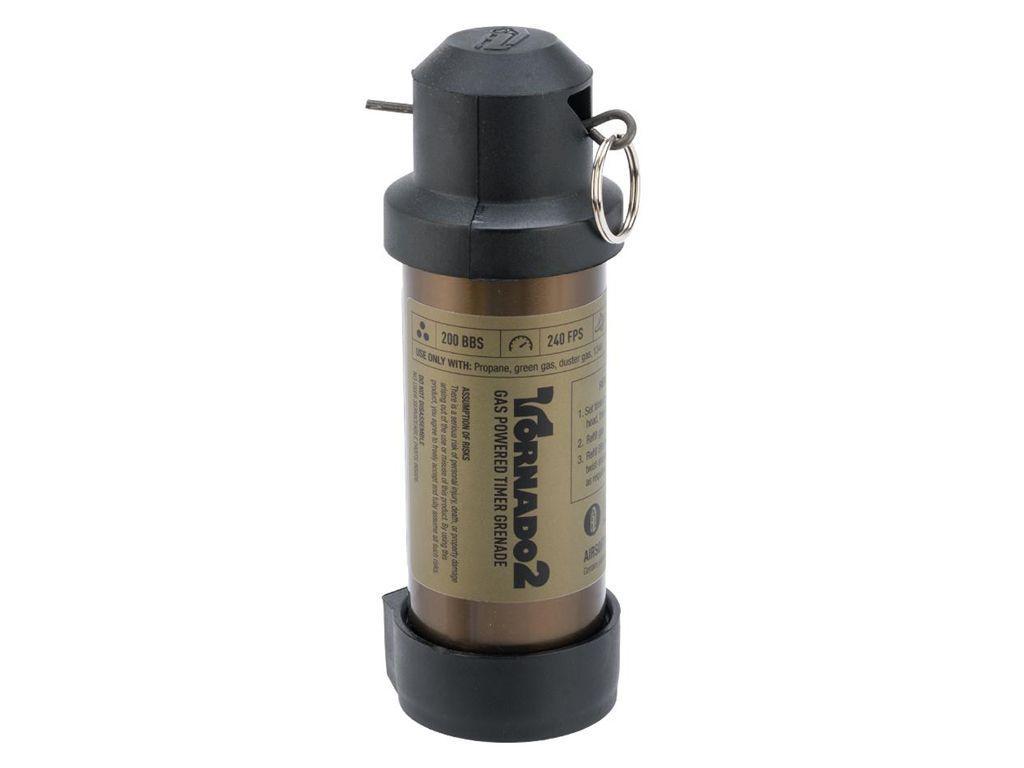 Airsoft Innovations Tornado 2 Timer Frag Grenade - 200rd