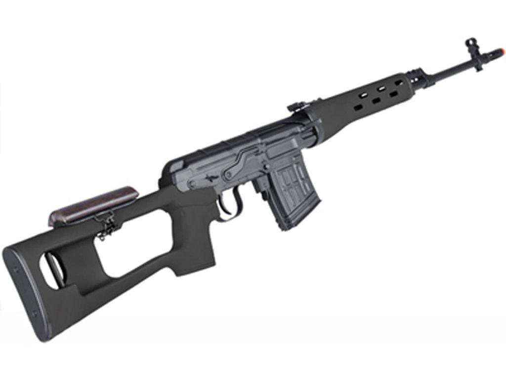Russian Classic SVD Dragunov GAS Sniper Rifle