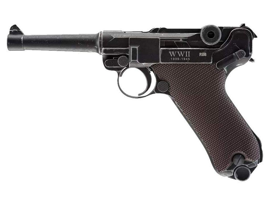 Umarex WWII Edition P.08 CO2 Blowback Steel BB Pistol