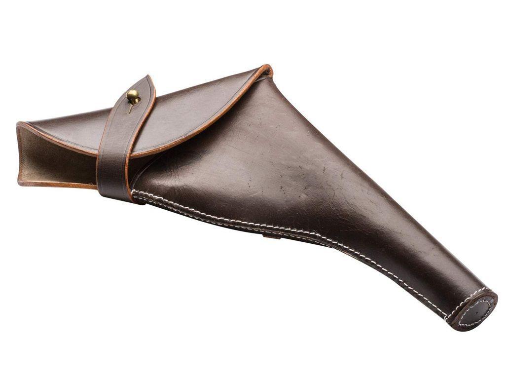 Webley MKVI Air Pistol Right Hand Leather Holster