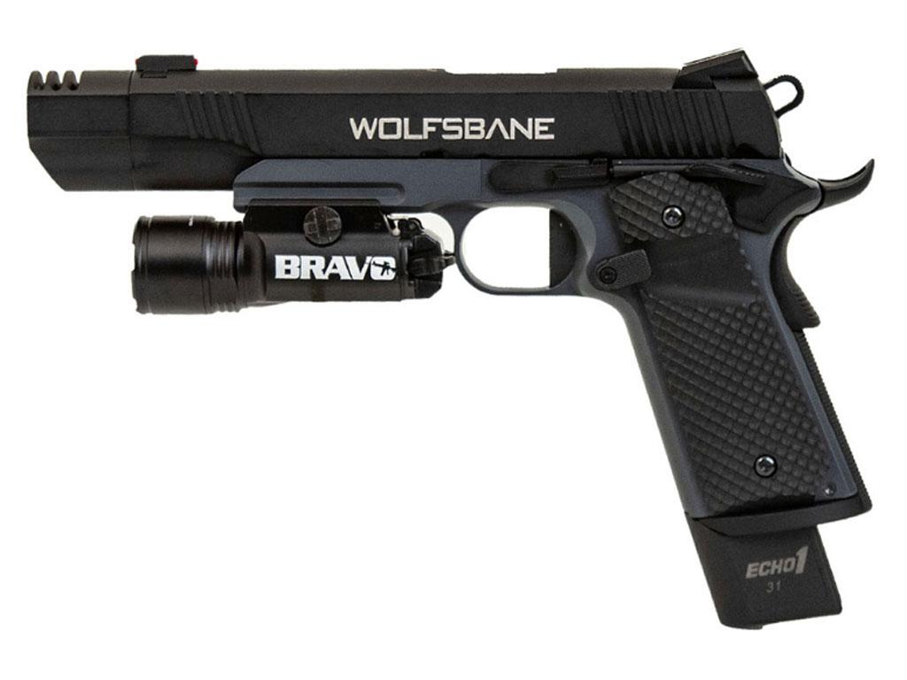 Pistol Wolfsbane with Bravo STL800 Flashlight Combo by Echo1