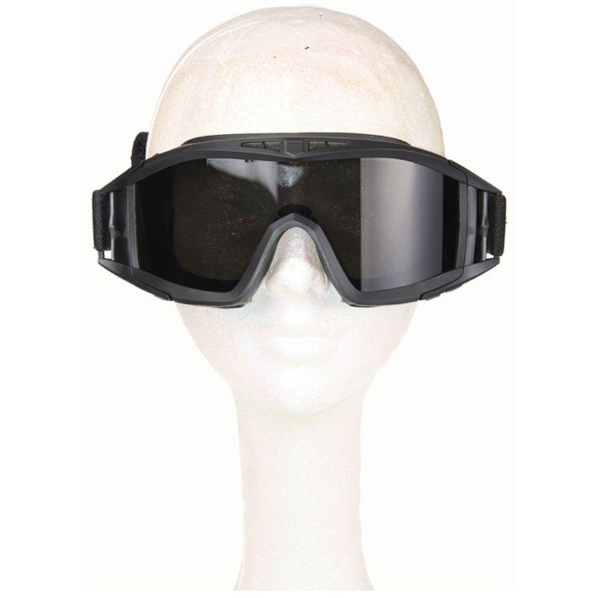 Black Advance Combat Tactical Goggles
