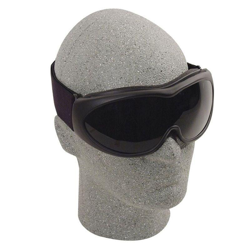 Black The Grunt Tactical Goggles With Smoke Lenses