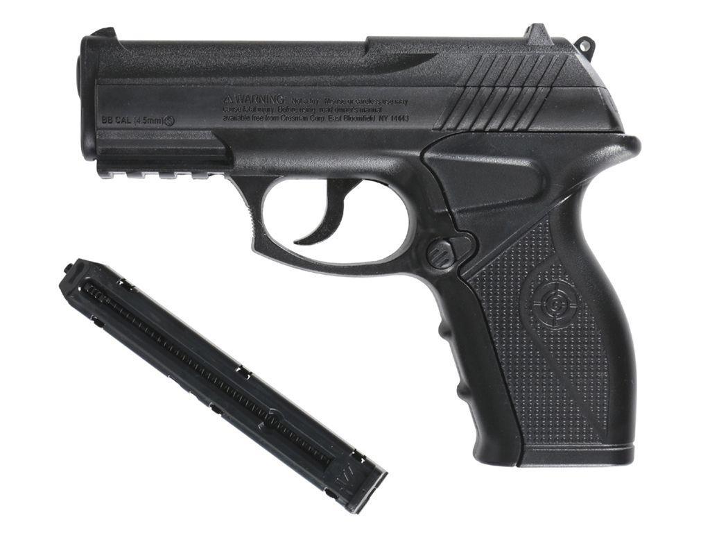 Crosman P10 Phantom CO2 NBB Steel BB gun Airgun Kit
