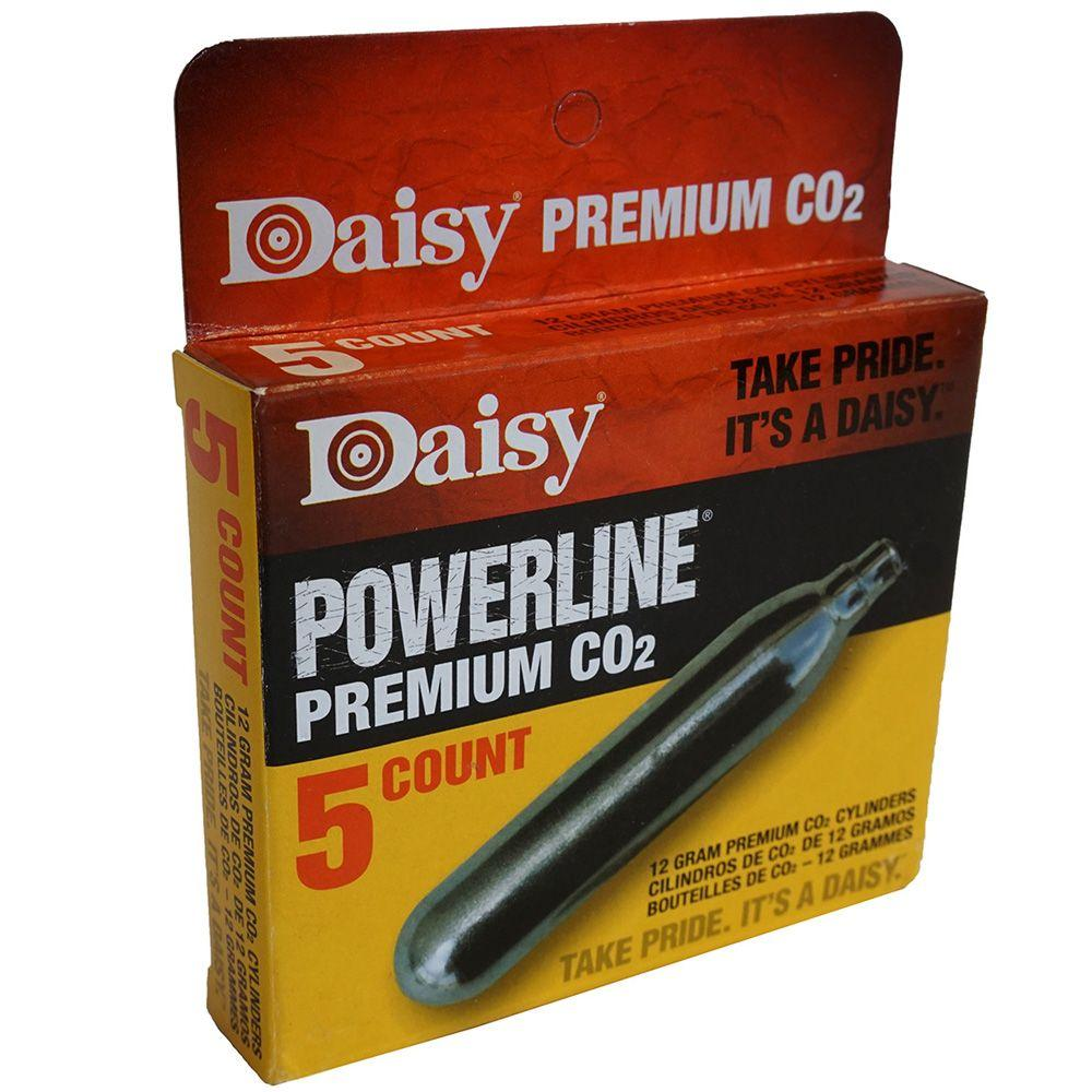 Daisy Powerline Premium CO2 Cylinder 5-Pack