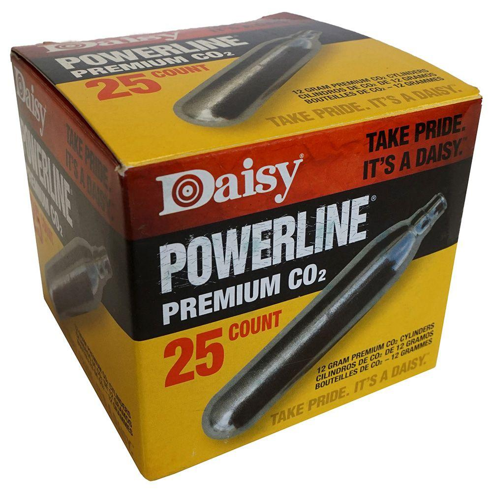 Daisy Powerline Premium CO2 Cylinder 25-Pack