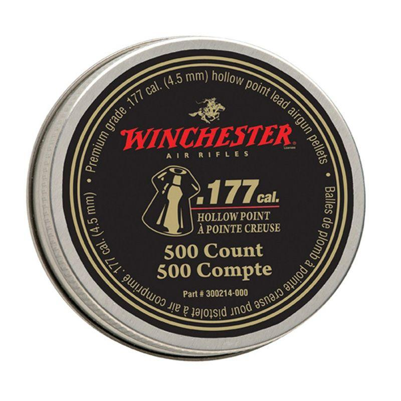 Daisy Winchester .177 Cal Hollow Point Pellets 500-Pack