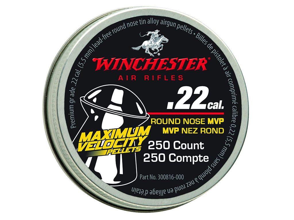 Winchester 250 Tin .22 Cal. Hyper Velocity Pellet