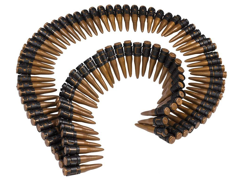 Molded Bullet Belt - 60 Inch