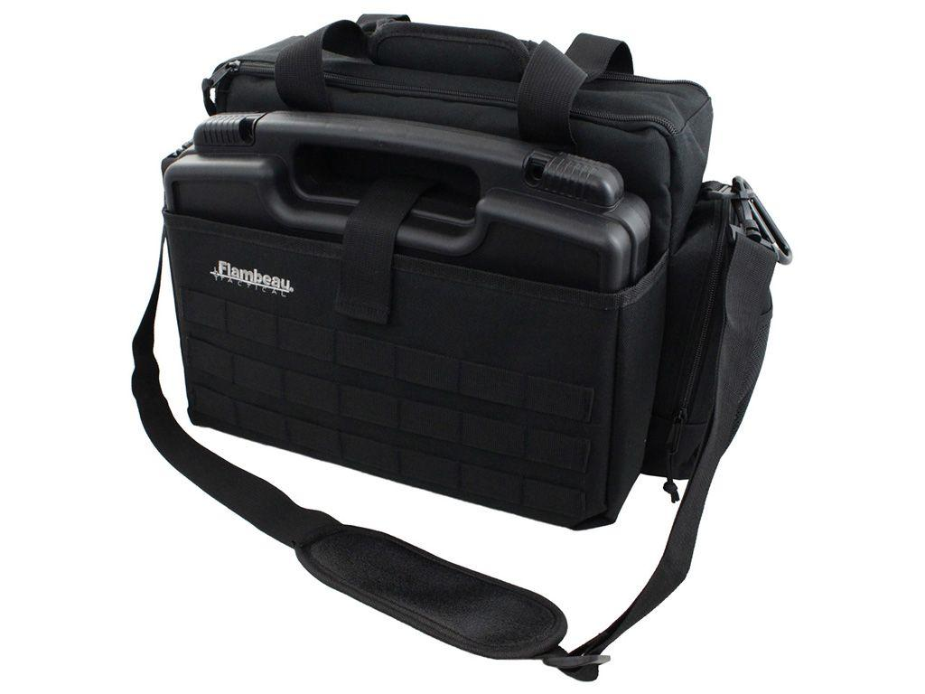 Flambeau Tactical Range Bag/Pistol Case Combo