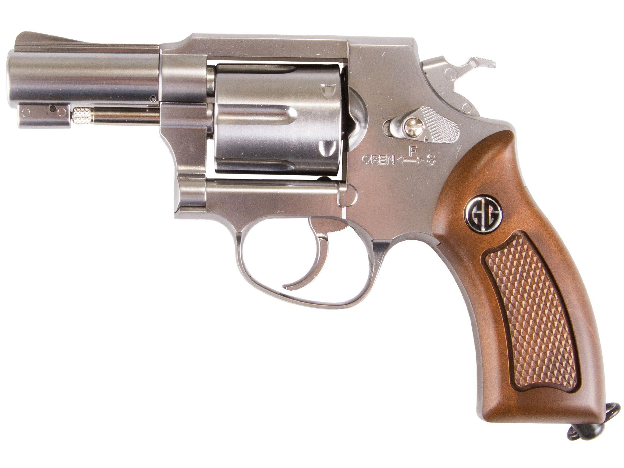 G&G Silver G731 CO2 NBB Airsoft Revolver