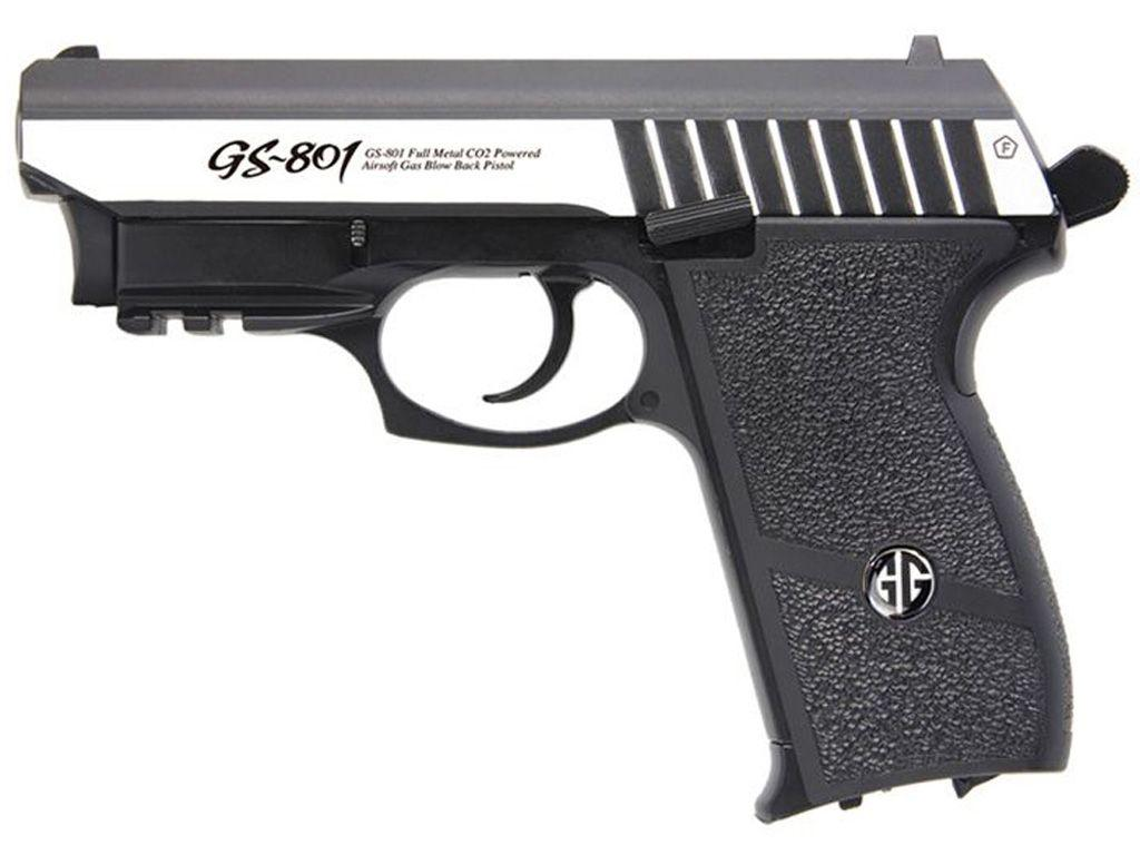 G&G GS-801 CO2 Blowback Airsoft Pistol