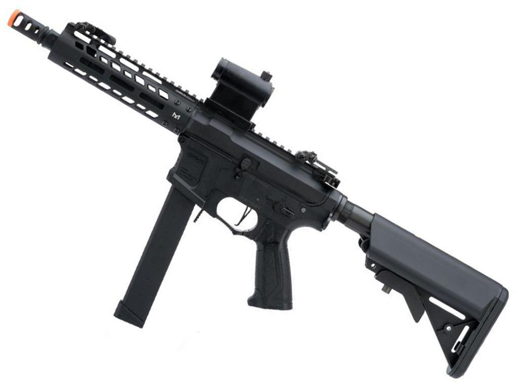 G&G CM16 PCC9 CQB Carbine 300rds Airsoft AEG Rifle - Black
