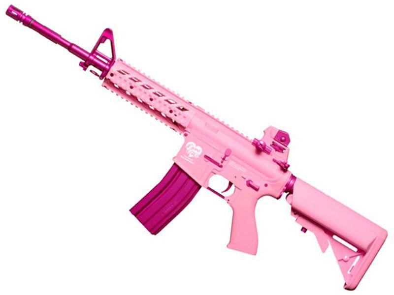 G&G FF15-L Pink AEG Airsoft Rifle