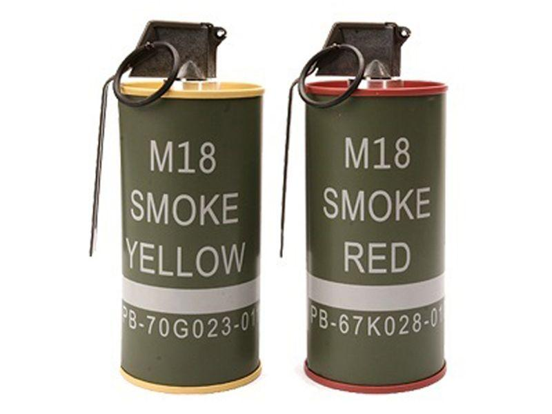 G&G Mock 18 Grenade Shape Red-Yellow BB loader