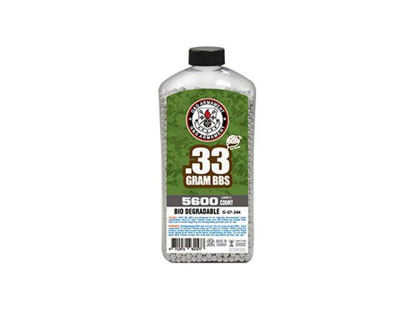 G&G 0.33g Bio Airsoft BBs Can with 5600 Counts - Grey