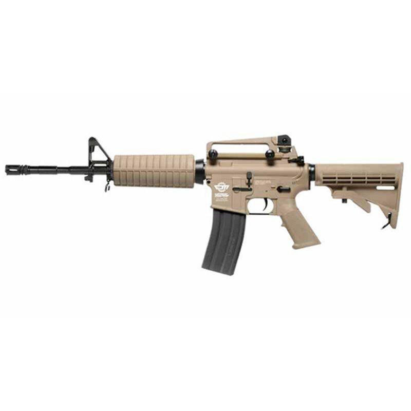 G&G CM16 Carbine Desert GBB Rifle