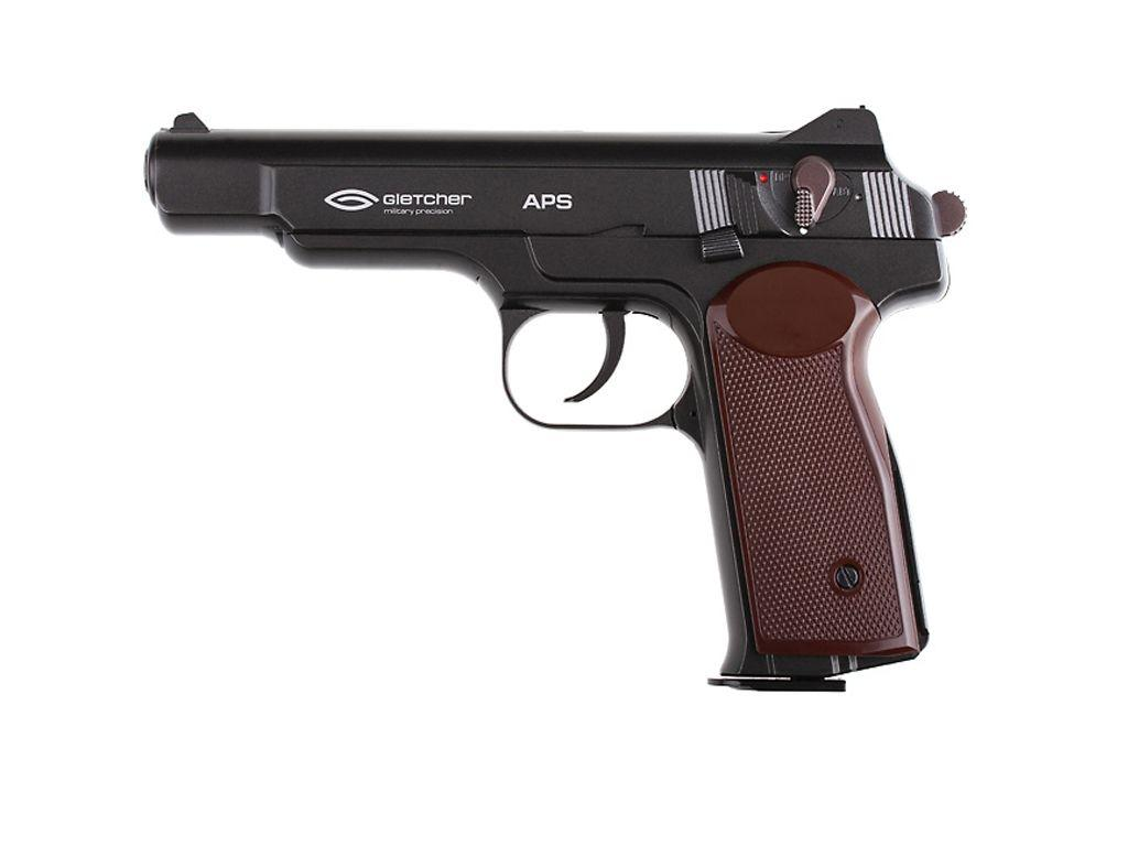 Gletcher APS CO2 Blowback Steel BB Pistol