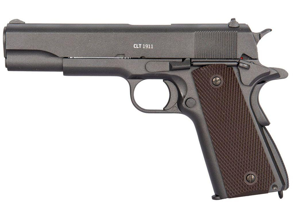 Gletcher CLT 1911 CO2 Blowback Steel BB Pistol